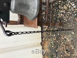 Trés Belle Et Ancienne Cloche En Bronze D'école Ou Maison Bourgeoise 19 Éme