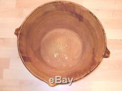 Très Gros TIAN XIX eme, particulièrement haut, poterie provençale ancienne