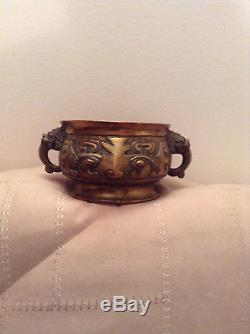 Vase ancien en bronze chinois